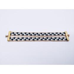Double bracelet souple