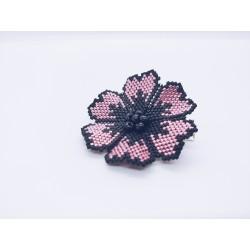 Grosse barrette fleur