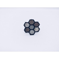 Bague hexagones