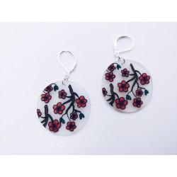 Boucles fleurs de cerisier