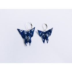 Boucles origamis papillons