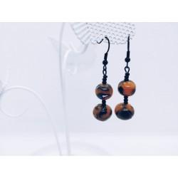 Boucles double perle